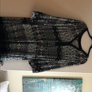 3/4 Sleeve Statement Dress